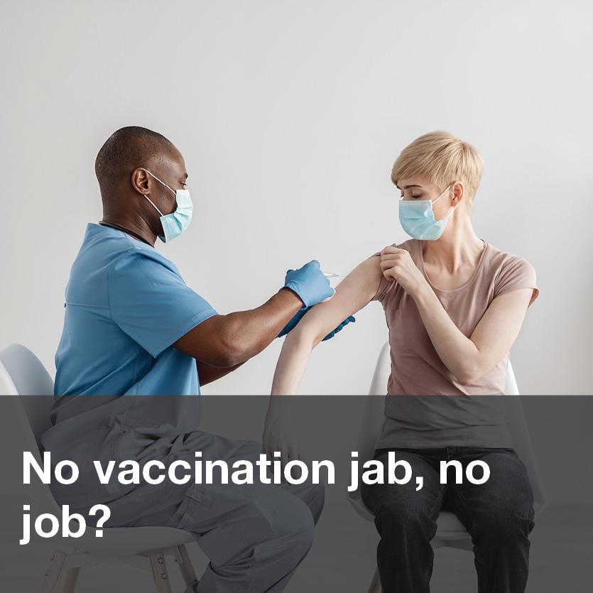 No vaccination jab, no job?